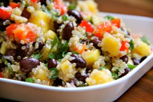 quinoa is an excellent whole grain for your heart health!