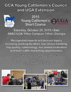 2015 YCC Short Course Flyer