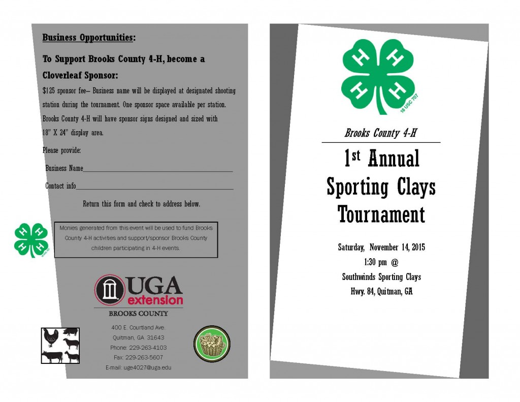 sporting clay brochure and registration_Page_1