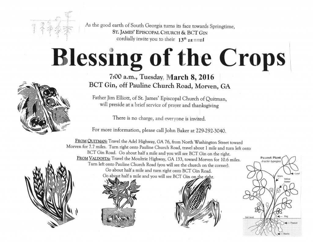 blessing of the crops