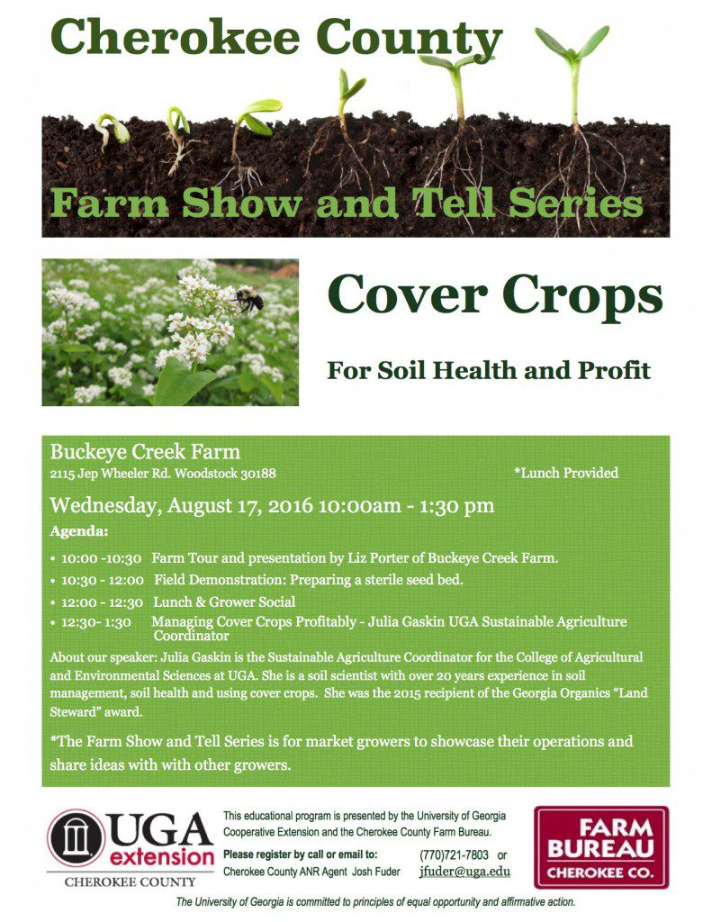 cover crop flier