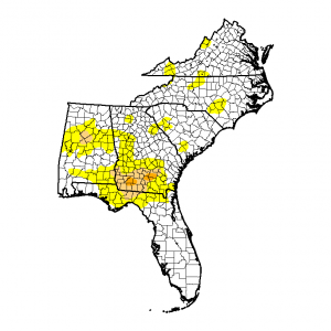 20140819_southeast_drought monitor