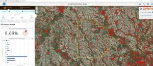 C-CAP land cover atlas screen shot