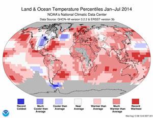 ytd global temp anomaly 8-18-2014