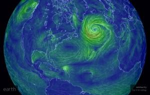 North Atlantic winds 10-14-2014