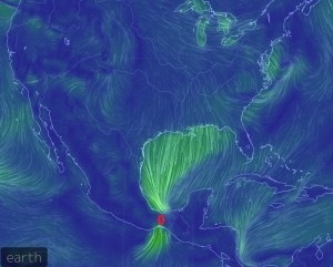 strong flow across mexico 11-14-2014