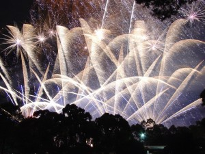 Fireworks in Adelaide.  Source: Commons Wikimedia