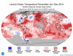 global temp anomalies ncdc 2014