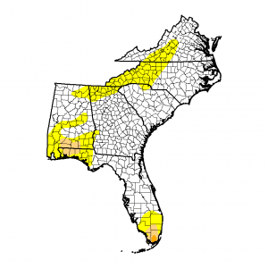 drought 20150324_southeast_none