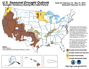 seasonal drought outlook 5-7-2015