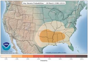 Source: NOAA Storm Prediction Center