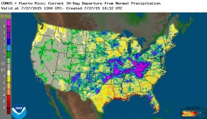 30 day precip dep from normal 7-27-2015