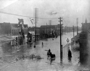 Brunswick storm surge 1893.  Source: GeorgiaWeatherHistory.com