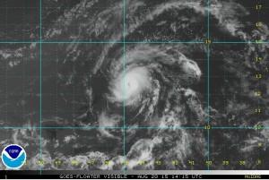 hurricane danny 8-20-2015
