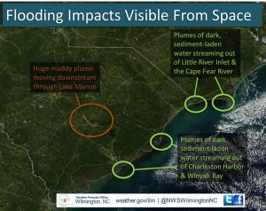 Source: NASA, annotation by NWS Wilmington NC