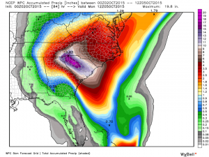 rainfall update 10-2-2015
