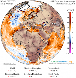 sst anomaly indian ocean 10-30=2015