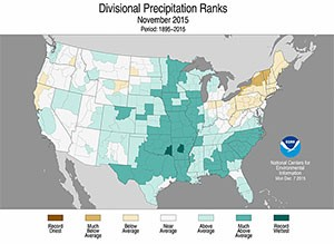nov precip ranking 2015