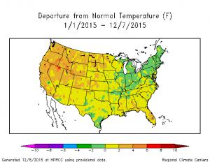 ytd temp map 12-8-2015