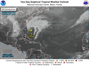 subtropical storm 1-8-2016