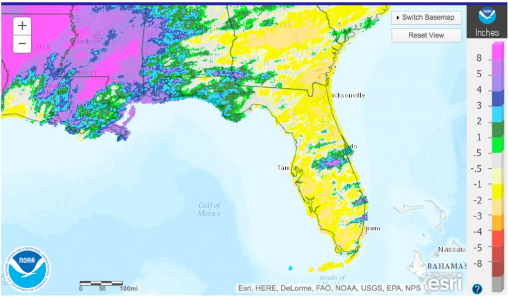 Climate Map Of Florida.Climate And Agriculture In The Southeast Florida Climate Summary