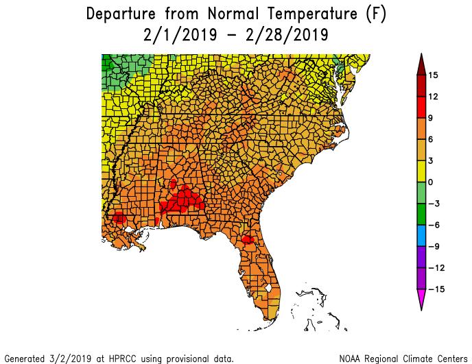 c4da16baba67b4 Florida climate summary for February 2019 now available