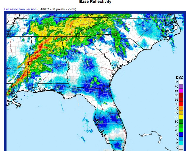 Learn About The New National Weather Service Radar Website Climate And Agriculture In The Southeast