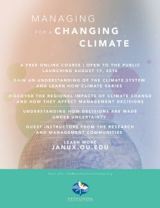 managing for a changing climate