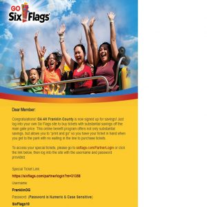 Six Flags Tickets