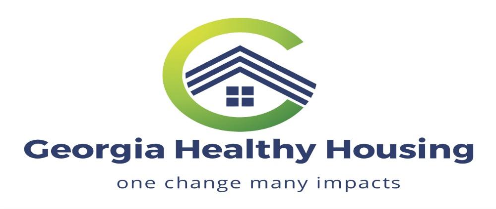 Georgia Healthy Housing - One Change, Many Impacts - Logo