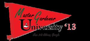 Master Gardener University '13