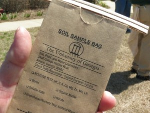 soil sample bag