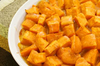 Honey-Glazed Sweet Potatoes