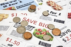 Coupons and coins