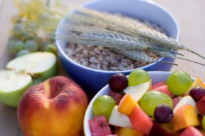fruits and whole grain