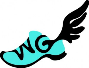 Walk Georgia new winged sneaker logo