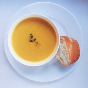 RECIPESbutternutsquashcarrotsoup