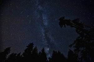 milky way and perseids