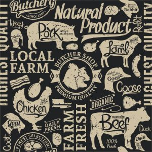 farm fresh animal graphic